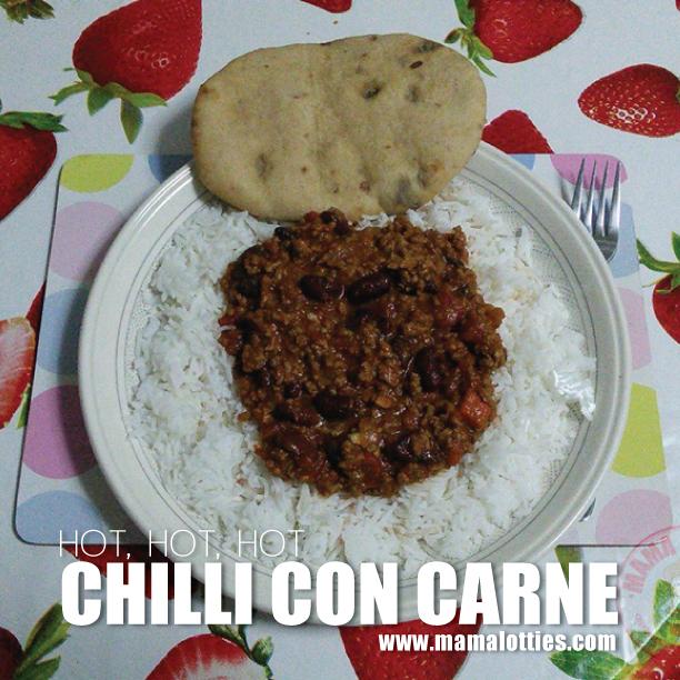 Chilli Con Carne Mama Lotties Gibraltar 39 S Recipe Website