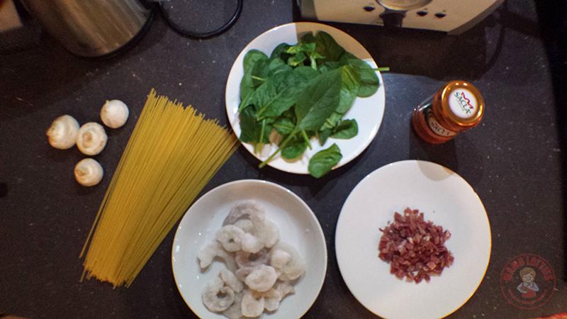 Prawn-Linguini-ingredients