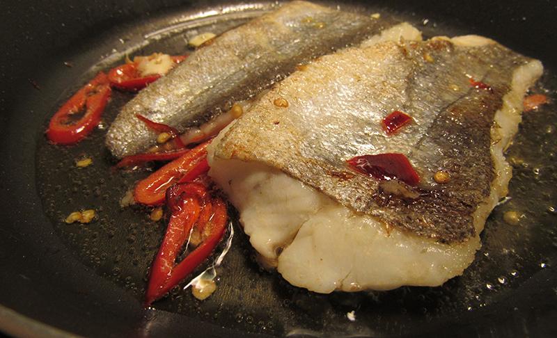 hake-frying