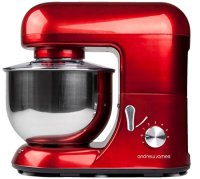 Andrew-James-1300-Watt-Electric-Food-Stand-Mixer-In-Stunning-Red-Includes-2-Year-Warranty-Splash-Guard-52-Litre-Bowl-And-Spatula-0