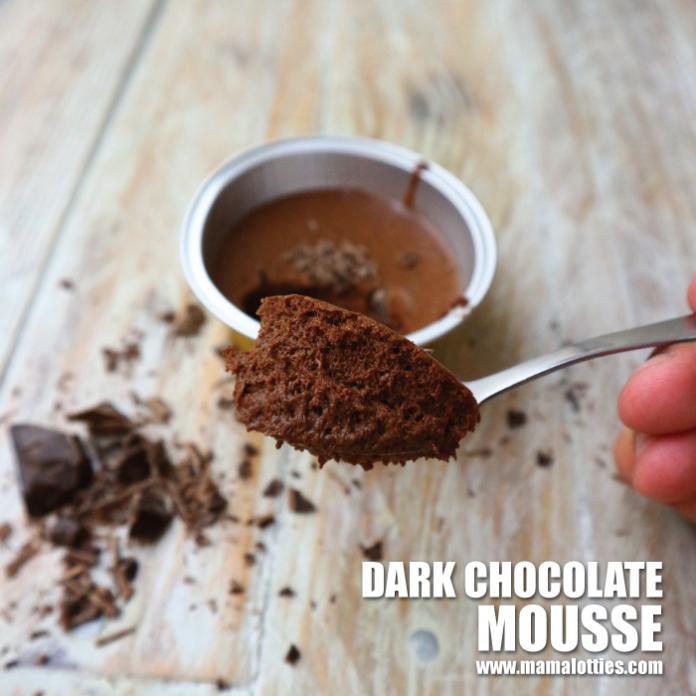 Dark Chocolate Mousse