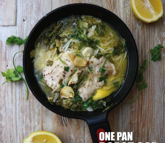 One Pan Roast Cod
