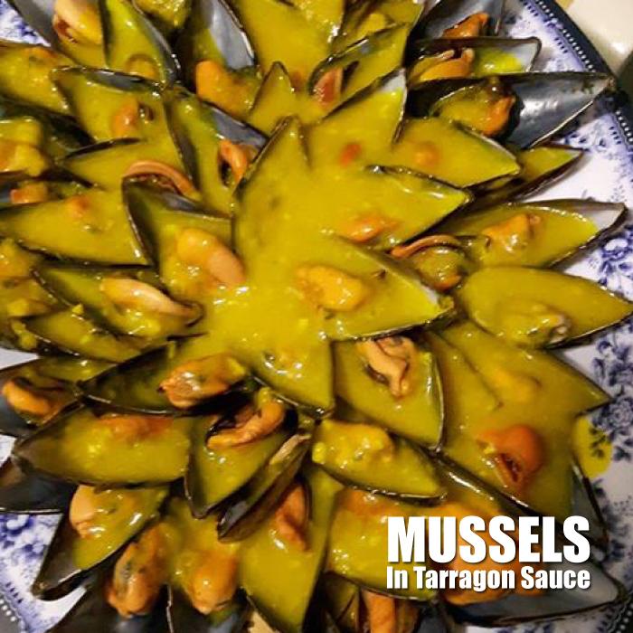Mussels in Tarragon